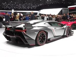 Lamborghini lança o Veneno, de R$ 7,7 milhões (Foto: Luis Fernando Ramos/G1)