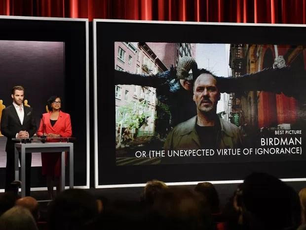 'Birdman' é campeão de indicações no Oscar e concorre em nove categorias (Foto: Mark Ralston/AFP)
