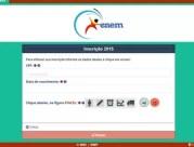 Inscrição para o Enem no site do Inep exige documentos básicos como CPF, identidade, e dados pessoais (Foto: Reprodução/Divulgação)