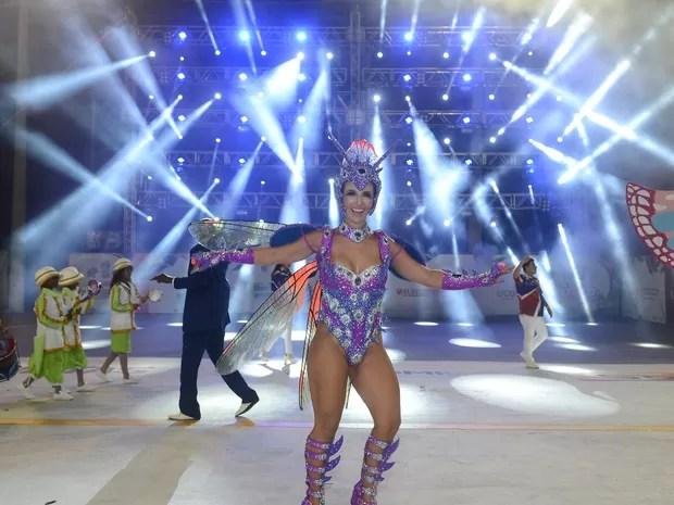 Destaque da Pega no Samba (Foto: Fernando Madeira/ A Gazeta)