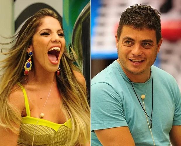 Anamara e Dhomini (Foto: João Cotta/TV Globo)