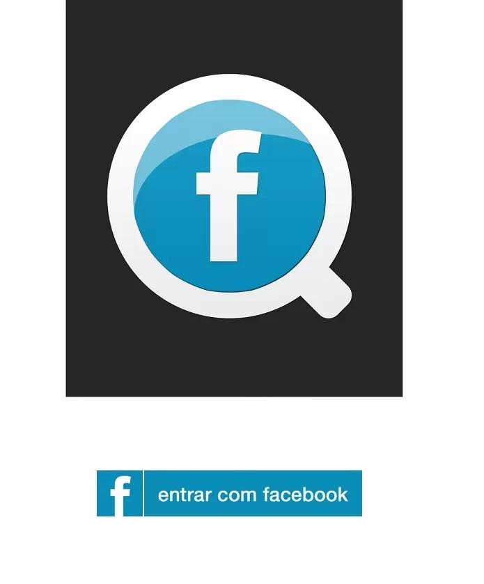 Faça o login no Facewatcher com seus dados do Facebook (Reprodução/ Taysa) (Foto: Faça o login no Facewatcher com seus dados do Facebook (Reprodução/ Taysa))