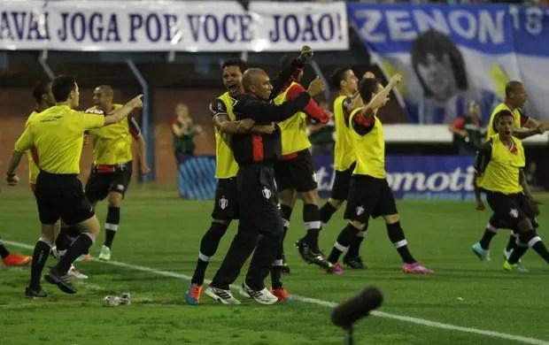 gol avaí x joinville (Foto: Jamira Furlani/Avaí FC)