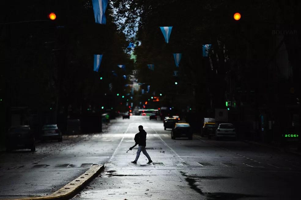 Argentina desistiu da Copa América de 2021 devido à piora da pandemia de Covid-19 — Foto: Getty Images