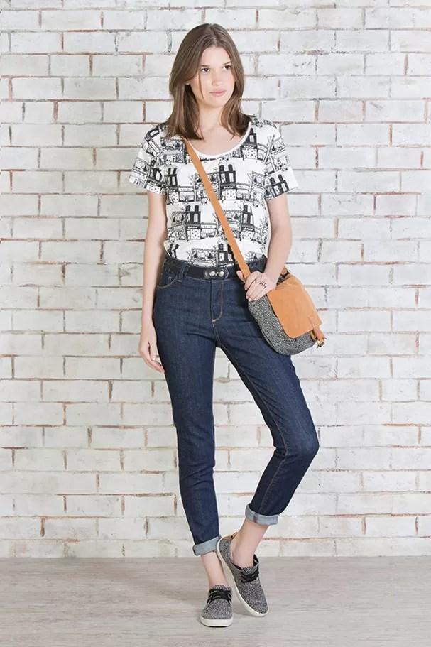 Jeans Cool, modelo ecológico da Cantão (Foto: Divulgação)