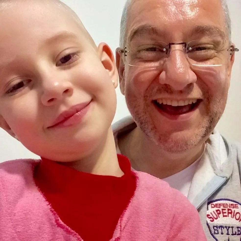 Luísa tem 6 anos e luta contra um câncer desde os quatro (Foto: Arquivo pessoal )