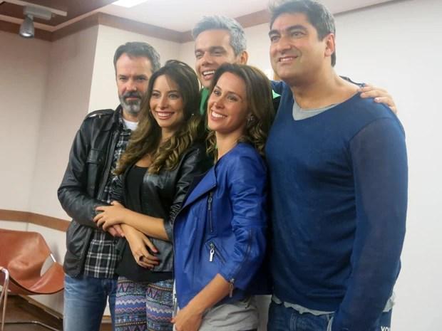 Equipe do novo Video Show, que estreia em 18 de novembro (Foto: Tássia Thum/G1)