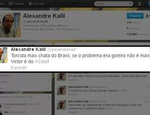 alexandre kalil twitter atlético-mg (Foto: Reprodução/Twitter)
