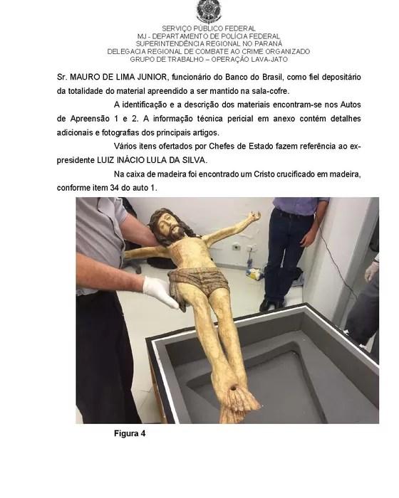 Material apreendido em sala-cofre do Banco do Brasil (Foto: Reprodução)