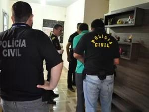 Operação 'Tredo' da Polícia Civil em Mato Grosso (Foto: Assessoria/Polícia Civil de MT)