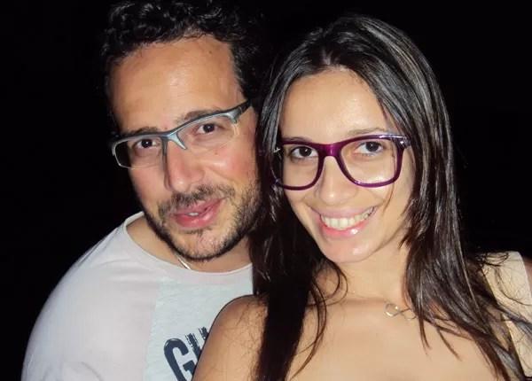 Luzia (ao lado do marido Isaías) diz que descobriu sexualidade após aprender pompoarismo (Foto: Divulgação/Arquivo Pessoal)