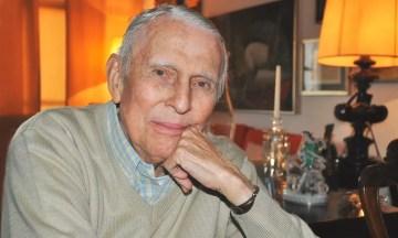 Paulo Bomfim, poeta e integrante da Academia Paulista de Letras — Foto: Reprodução