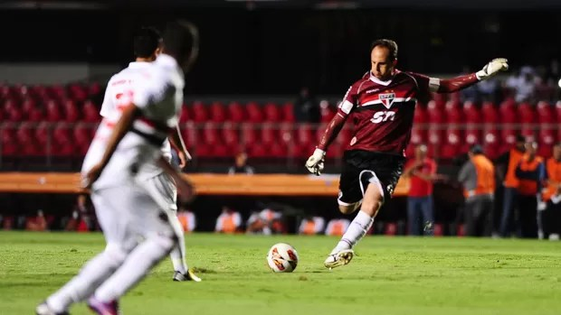 Rogerio Ceni, São Paulo x The Strongest (Foto: Marcos Ribolli)