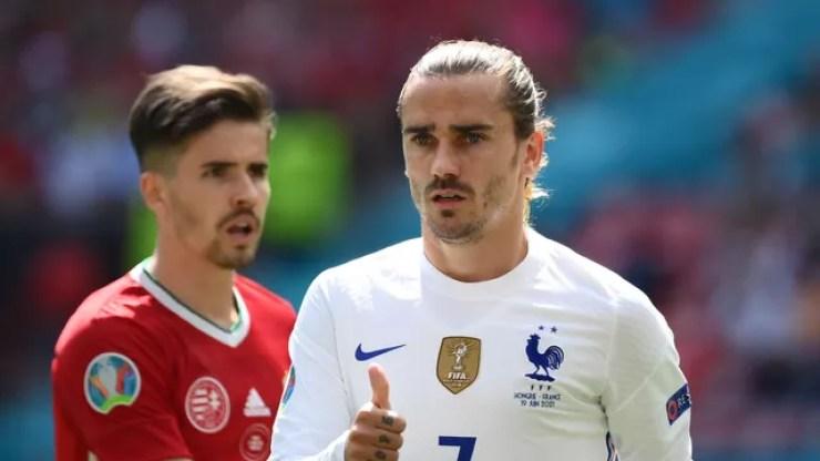 Griezmann garantiu o empate da França com a Hungria - Hungria x França
