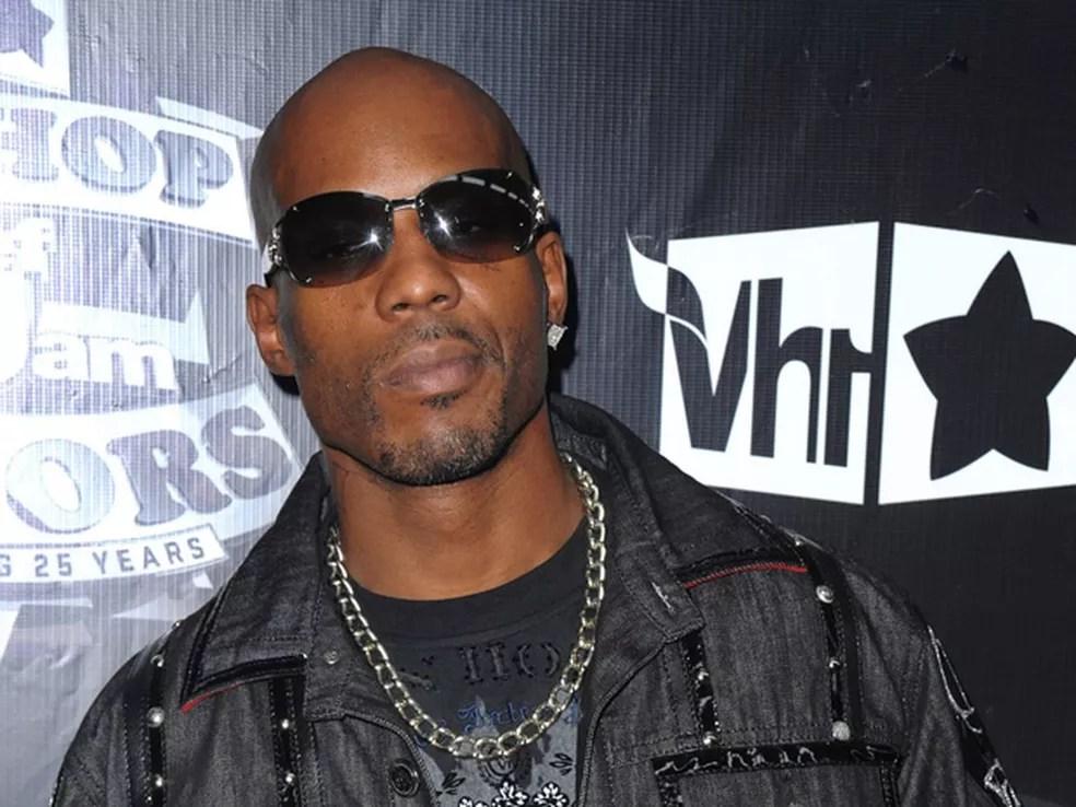 O rapper americano DMX em foto de 2009  — Foto: Peter Kramer / Arquivo / AP Photo