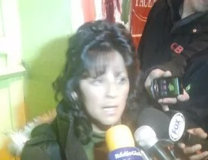 delegada abigail saba bolívia (Foto: Diego Ribeiro)