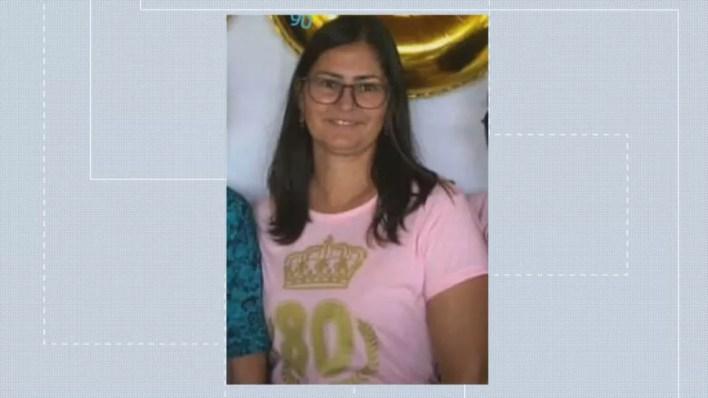 Cleonice Marques de Andrade, de 43 anos, está desaparecida — Foto: TV Globo / Reprodução