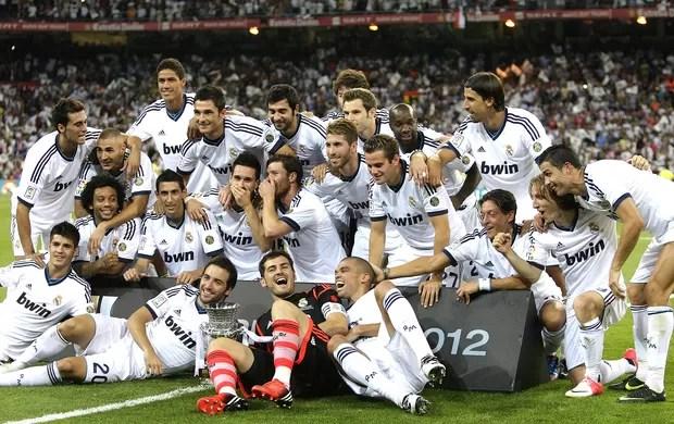 Real Madrid, Supercopa (Foto: Agência EFE)