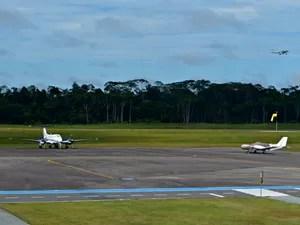 Horários de voos no aeroporto de Cruzeiro do Sul serão alterados (Foto: Adelcimar Carvalho/G1)