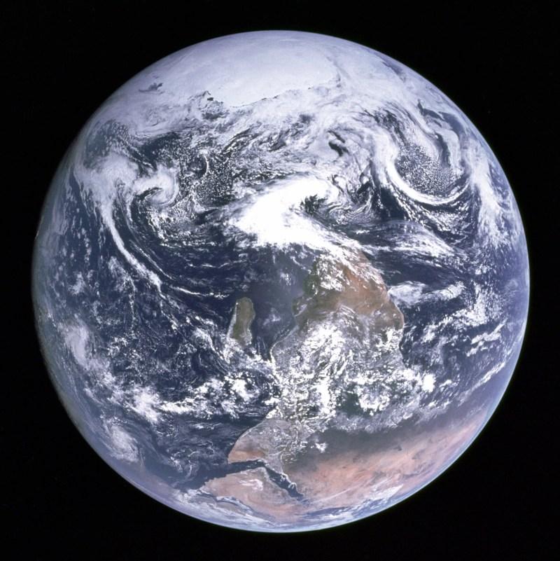 Mármore Azul (FOTO: NASA)