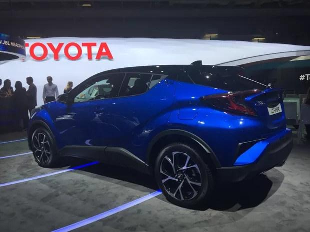 Toyota CH-R (Foto: Luciana de Oliveira/G1)