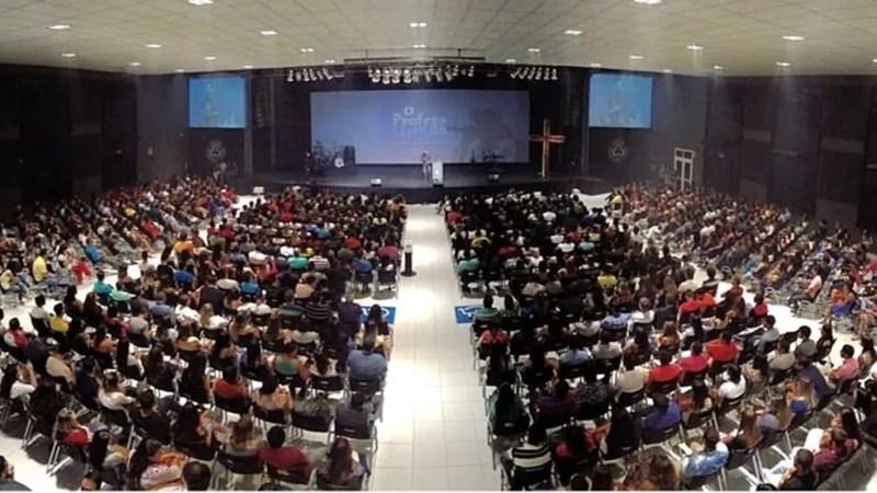 Centro de Convenções do Cidade Viva em João Pessoa, na Paraíba — Foto: Cidade Viva/Divulgação
