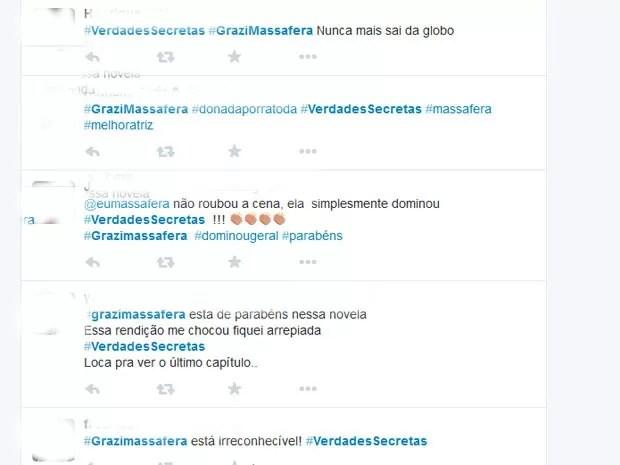 Comentários em rede social (Foto: Twitter/ Reprodução)