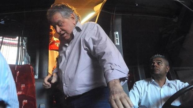 Juvenal Juvêncio, presidente do São Paulo (Foto: Marcos Ribolli / Globoesporte.com)