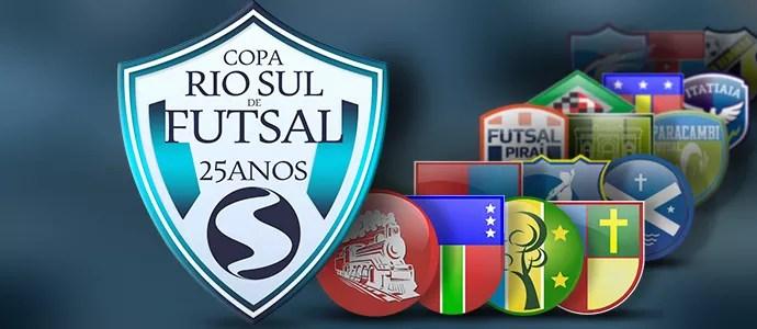 Carrossel Copa Rio Sul Futsal 300 (Foto: Editoria de arte)