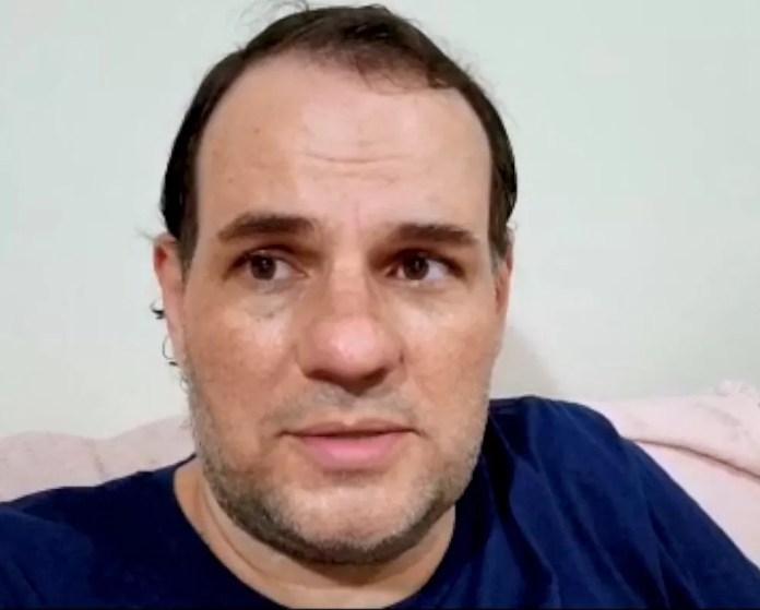 Raphael Furtado, candidato a prefeito pelo PSTU — Foto: Reprodução/TV Gazeta
