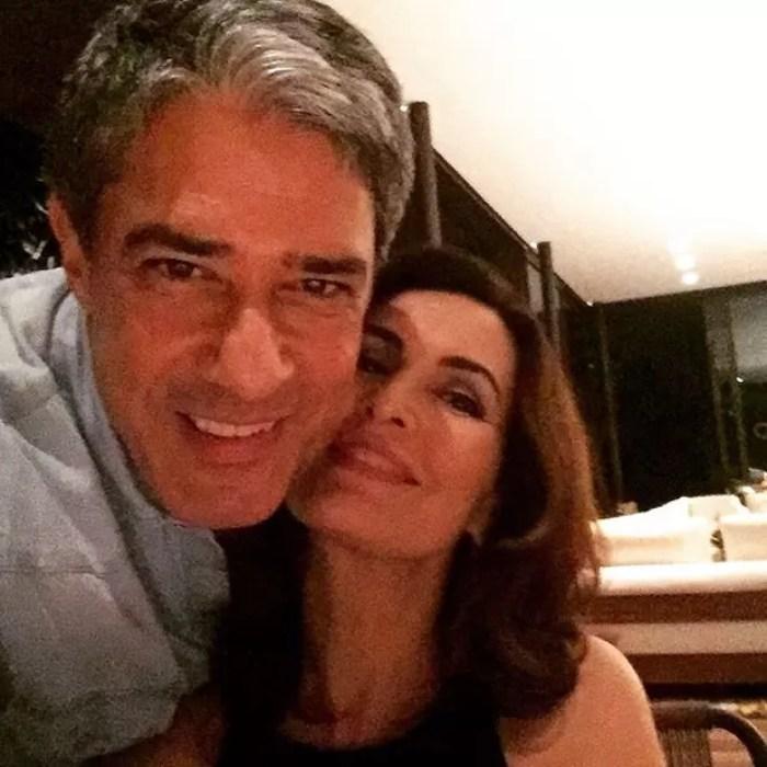 William Bonner e Fátima Bernardes  (Foto: Instagram/ Reprodução)