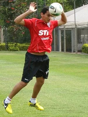 Ganso no treino com bola no São Paulo (Foto: Rubens Chiri / saopaulofc.net)