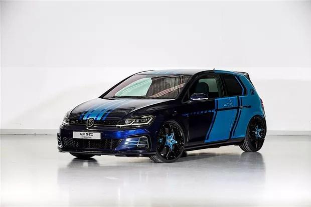 Estudantes criam Volkswagen Golf GTI híbrido (Foto: Divulgação)