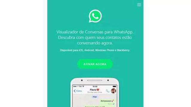 Novo golpe no WhatsApp promete 'visualizador de conversa' de contatos