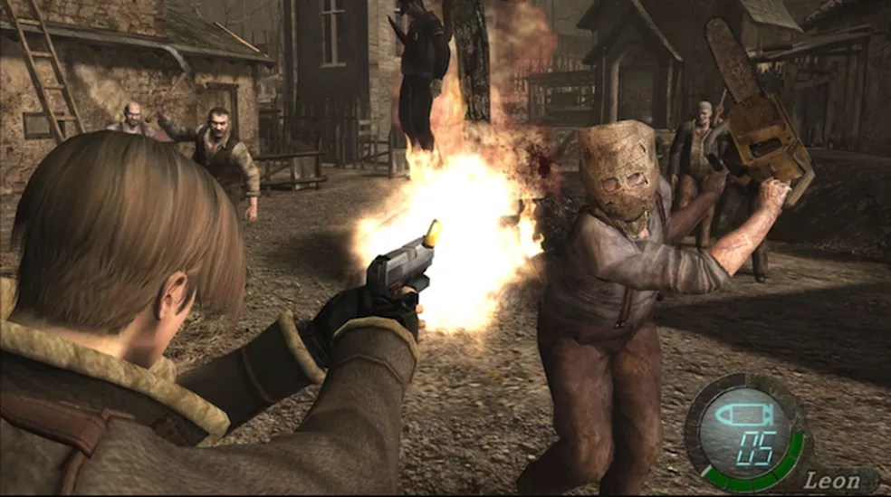 O clássico Resident Evil 4 tem versões para diversos consoles — Foto: Divulgação/Capcom