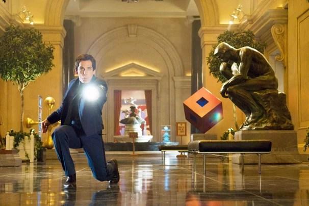 Em 'Uma Noite no Museu 2', Ben Stiller revive a história literalmente no Instituto Smithsonian, em Washington (Foto: Divulgação)