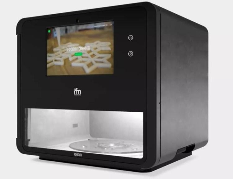 Foudini quer facilitar processo de fazer comidas saudáveis — Foto: Divulgação/ Natural Machines