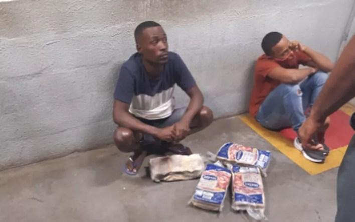Tio e sobrinho foram mortos após terem furtado carne em supermercado — Foto: Arquivo pessoal