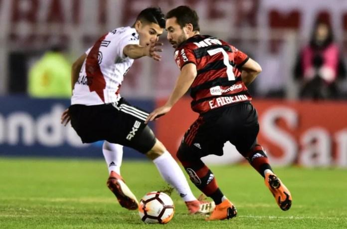 River x Flamengo: outro clássico da primeira fase que pode se repetir (Foto: Staff Images/Flamengo)