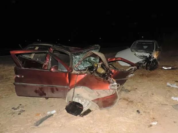 Acidente deixou seis pessoas feridas (Foto: Jonas Barbosa/Blog Sigi Vilares)