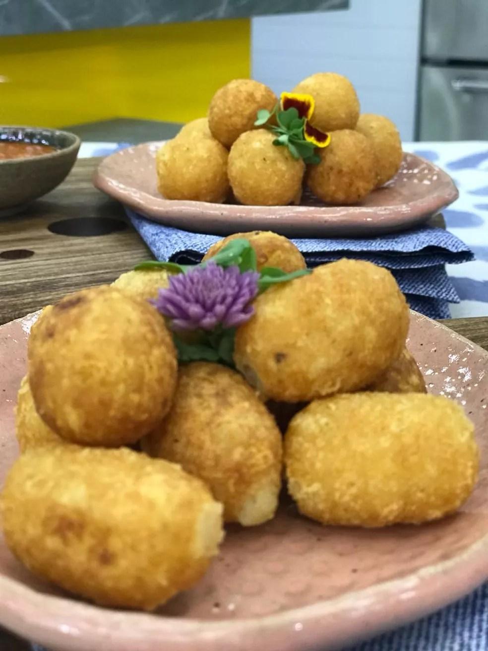 Poucos ingredientes separam você dessa delícia de receita. Aprenda a fazer! — Foto: Dani Meira/TV Globo