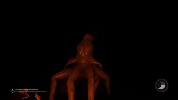 The Forest possui dois chefes diferentes: o Octopus Mutant e Spider Mutant (Foto: Reprodução/Tais Carvalho)