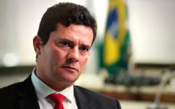 Juiz Sérgio Moro suspendeu as audiências de segunda-feira (28) por causa dos protestos  (Foto: CGTN America)