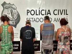 amapá, macapá, oiapoque, presos, tráfico, adoção (Foto: Divulgação/Polícia Civil)