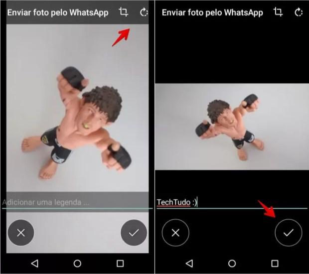 Capturando e editando imagem
