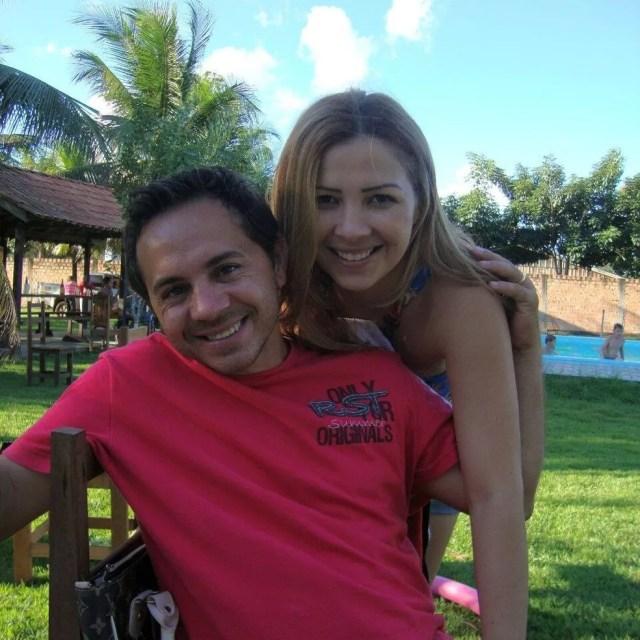 Cléia e o marido, Jandirlei Alves Bueno, de 39 anos (Foto: Polícia Civil/Divulgação)