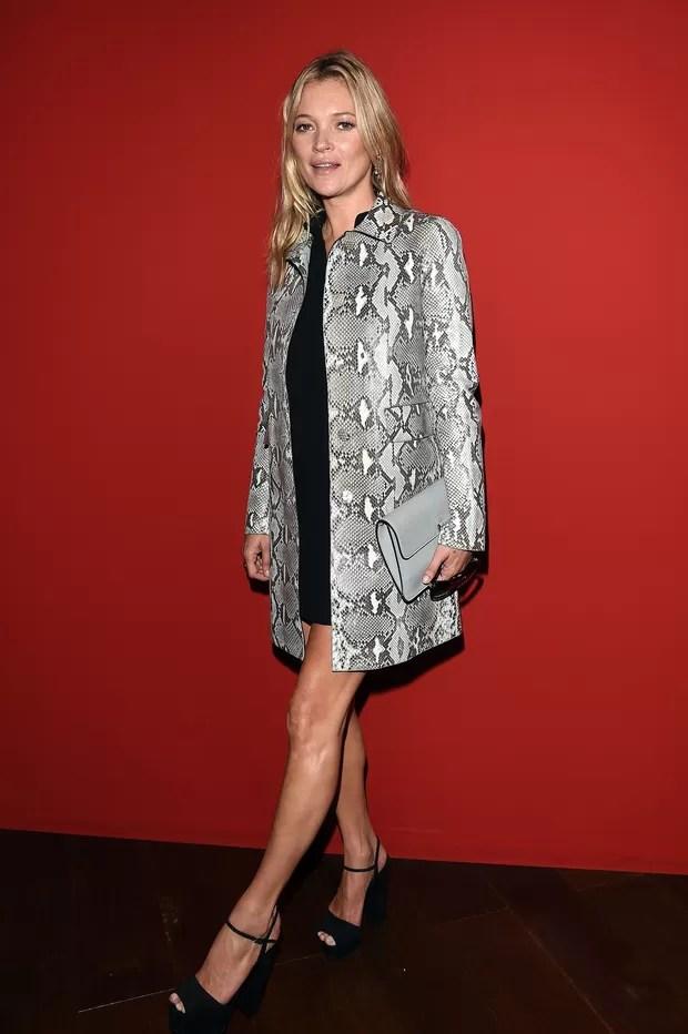 Kate Moss no desfile da Gucci (Foto: Getty Images)