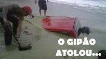 Para rivais: 'O Gipão atolou'  (Foto: Reprodução/Facebook)
