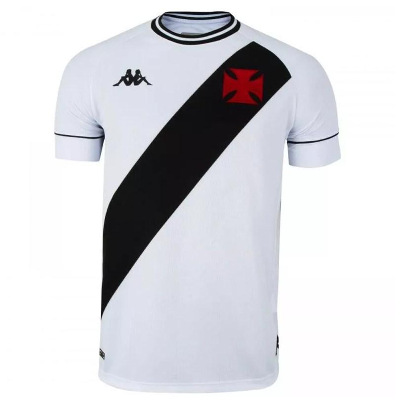 Nova camisa branca do Vasco — Foto: Reprodução