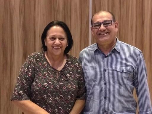 Fátima Bezerra (PT) escolheu Getúlio Marques para comandar a Secretaria de Educação do RN — Foto: Divulgação